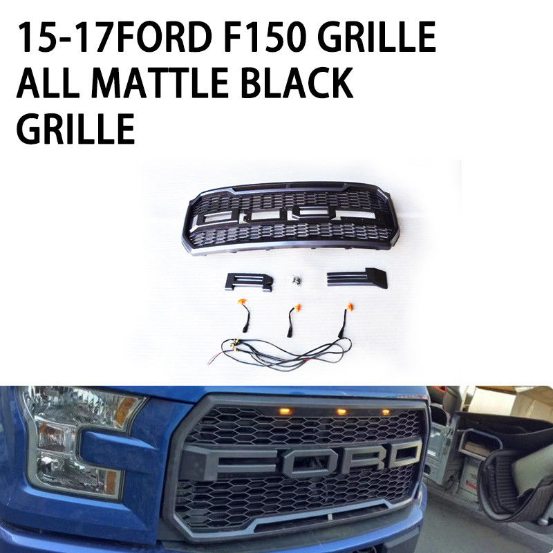 Stable Cool Ford F150 Custom Grill ABS Front Bumper For Ford F150 Raptor